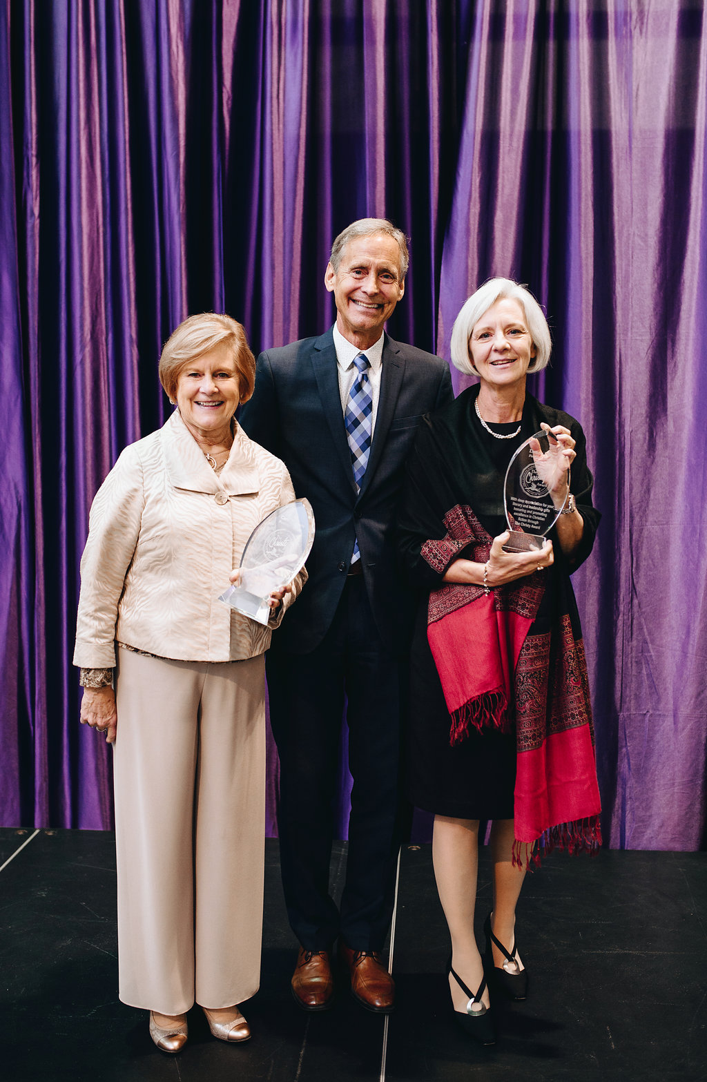 Carol Johnson, Stan Jantz and Donna Kehoe